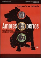 Amores Perros - Dutch Movie Poster (xs thumbnail)