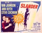Slander - Movie Poster (xs thumbnail)
