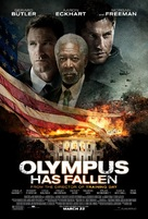 Olympus Has Fallen - Theatrical movie poster (xs thumbnail)