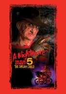 A Nightmare on Elm Street: The Dream Child - British DVD movie cover (xs thumbnail)