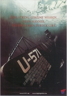 U-571 - German Movie Poster (xs thumbnail)