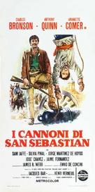 La bataille de San Sebastian - Italian Theatrical poster (xs thumbnail)