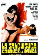 La sanguisuga conduce la danza - Italian Movie Poster (xs thumbnail)