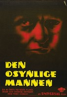 The Invisible Man - Swedish Theatrical movie poster (xs thumbnail)