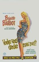 Voulez-vous danser avec moi? - Belgian Movie Poster (xs thumbnail)