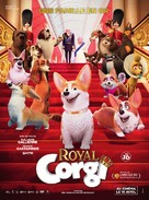 The Queen's Corgi - French Movie Poster (xs thumbnail)