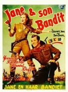 Calamity Jane and Sam Bass - Belgian Movie Poster (xs thumbnail)