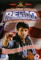 Remo Williams: The Adventure Begins - British DVD cover (xs thumbnail)