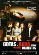 Gouttes d'eau sur pierres brûlantes - Spanish Movie Poster (xs thumbnail)