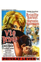 Vie privée - Belgian Movie Poster (xs thumbnail)