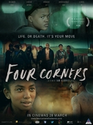 Four Corners - South African Movie Poster (xs thumbnail)