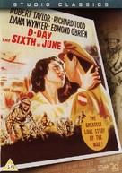 D-Day the Sixth of June - British Movie Cover (xs thumbnail)