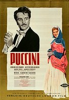 Puccini - German Movie Poster (xs thumbnail)
