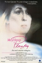 Plenty - British Movie Poster (xs thumbnail)