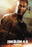 Live Free or Die Hard - Turkish Movie Poster (xs thumbnail)