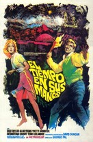 The Time Machine - Spanish Movie Poster (xs thumbnail)