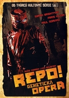 Repo! The Genetic Opera - Czech DVD movie cover (xs thumbnail)