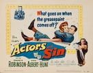 Actor's and Sin - Movie Poster (xs thumbnail)
