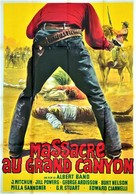 Massacro al Grande Canyon - French Movie Poster (xs thumbnail)