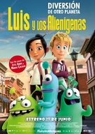 Luis and His Friends from Outer Space - Spanish Movie Poster (xs thumbnail)