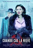 Despite the Falling Snow - Spanish Movie Poster (xs thumbnail)