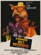 The Magnificent Seven Ride! - French Movie Poster (xs thumbnail)