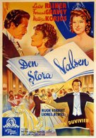 The Great Waltz - Swedish Movie Poster (xs thumbnail)
