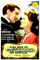 The White Cliffs of Dover - Spanish Movie Poster (xs thumbnail)