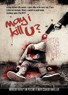 May I Kill U? - British Movie Poster (xs thumbnail)