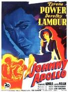 Johnny Apollo - French Movie Poster (xs thumbnail)