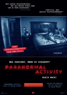 Paranormal Activity - German Movie Poster (xs thumbnail)