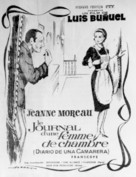 Le journal d'une femme de chambre - Spanish Movie Poster (xs thumbnail)