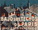 Sous les toits de Paris - Spanish Movie Poster (xs thumbnail)