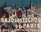 Sous les toits de Paris - Spanish Movie Poster (xs thumbnail)