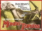 Mondo Topless - Movie Poster (xs thumbnail)
