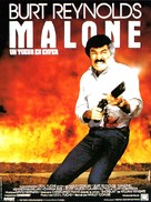 Malone - French Movie Poster (xs thumbnail)
