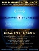 Pandora's Promise - Movie Poster (xs thumbnail)