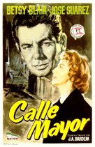 Calle Mayor - Spanish Movie Poster (xs thumbnail)