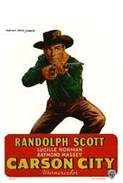 Carson City - Belgian Movie Poster (xs thumbnail)