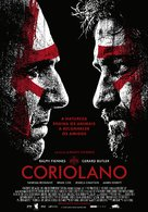 Coriolanus - Portuguese Theatrical movie poster (xs thumbnail)