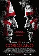Coriolanus - Portuguese Theatrical poster (xs thumbnail)