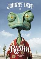 Rango - Norwegian Movie Poster (xs thumbnail)
