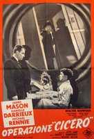 5 Fingers - Italian Movie Poster (xs thumbnail)