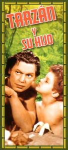 Tarzan Finds a Son! - Spanish Movie Cover (xs thumbnail)