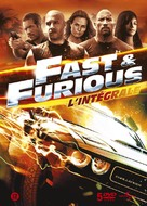 The Fast and the Furious - Belgian DVD cover (xs thumbnail)
