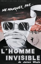 The Invisible Man - French Re-release poster (xs thumbnail)