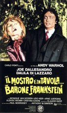 Flesh for Frankenstein - Italian Movie Poster (xs thumbnail)