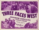 Three Faces West - Movie Poster (xs thumbnail)