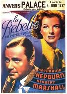 A Woman Rebels - Belgian Movie Poster (xs thumbnail)