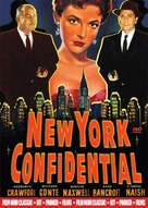 New York Confidential - DVD cover (xs thumbnail)